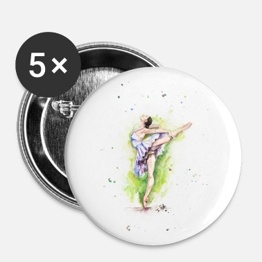 Peintre ballet - Badge petit 25 mm