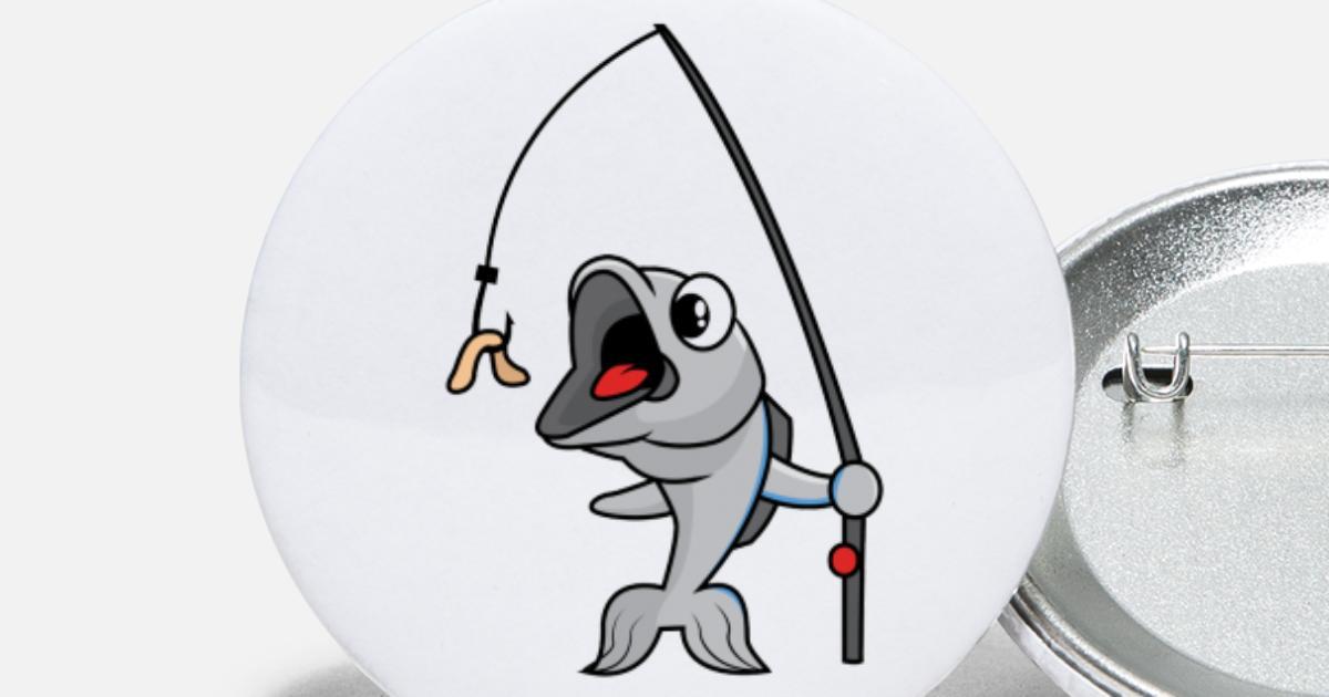 Angel Fisch und Köder Design Beanie   Spreadshirt