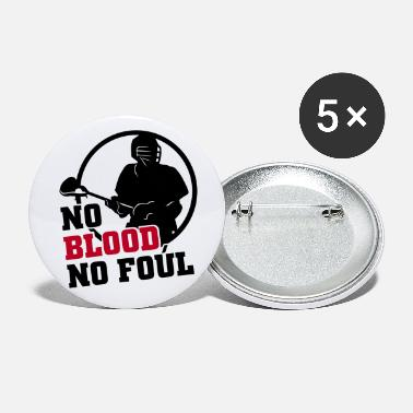 Foul No Blood No Foul - Small Buttons
