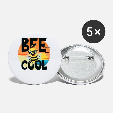 Abeille Bee Cool Bees Honey Bee Honey Apiculture Apiculture - Petits badges