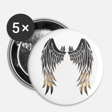 Aile Ailes ailes - Badge petit 25 mm