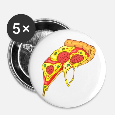 Italie pizza - Badge petit 25 mm