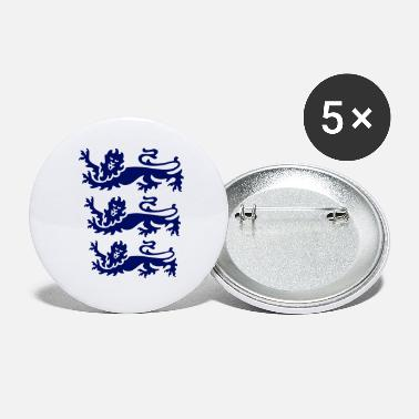 Three Lions three lions blue - Small Buttons