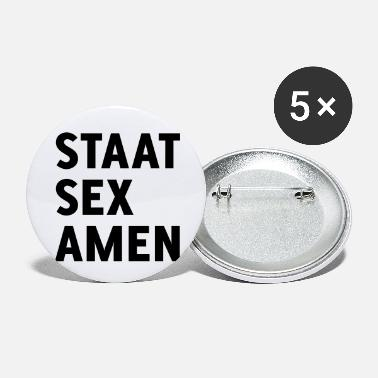 Staat State Examination (Staat Sex Amen) - Buttons klein