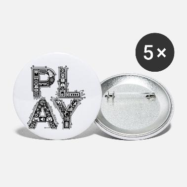 Play Play - Small Buttons