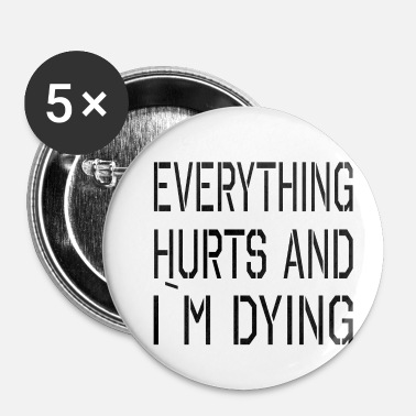 Hurtig Alt Hurts - Buttons/Badges lille, 25 mm