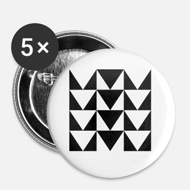 Patroon patroon - Buttons klein 25 mm (5-pack)