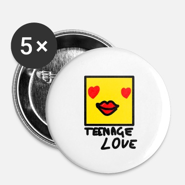 Picture Self Picture Girl: Teenage Love - Badge petit 25 mm
