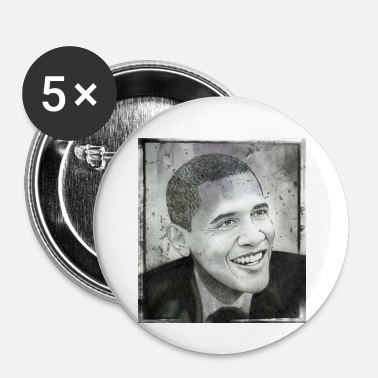Obama Obama - Badge petit 25 mm