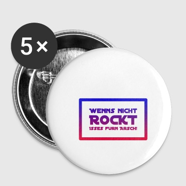 ROCK - Buttons klein 25 mm