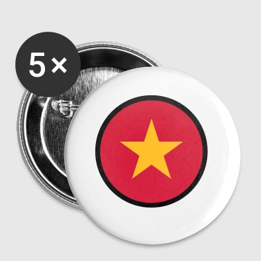 Under The Sign Of Vietnam - Buttons small 25 mm