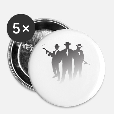 Mafia Mafia Gangster - Badge petit 25 mm