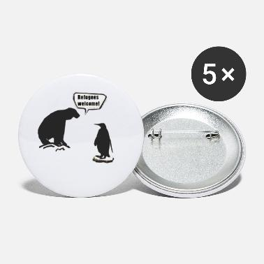 South Pole North Pole and South Pole - Small Buttons
