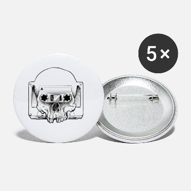Audio Audio Skull - Små buttons