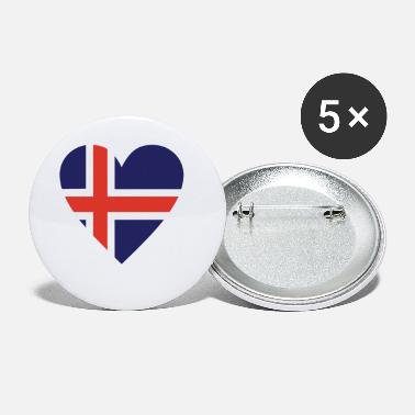 Iceland Iceland - Small Buttons