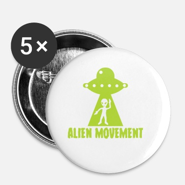 Movement Alien / Area 51 / UFO: Alien Movement - Små knappar 25 mm