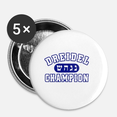 Champ Champion Champ dreidel - Badge petit 25 mm