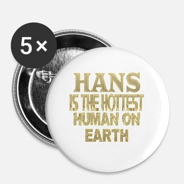 Haan Hans - Buttons klein 25 mm (5-pack)