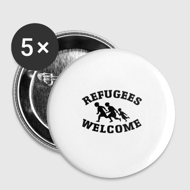 Refugees Welcome! - Buttons small 25 mm