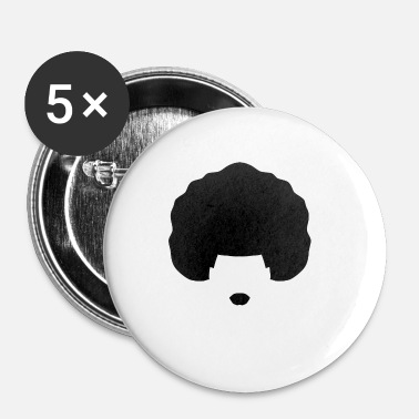 Afro afro - Badge petit 25 mm