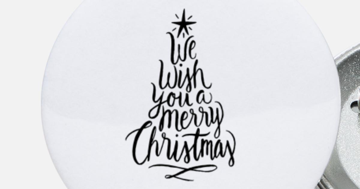 Weihnachtsstern Für Tannenbaum.Weihnachtsbaum Tannenbaum Weihnachtsstern X Mas Buttons Klein Spreadshirt