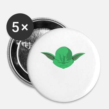 Yoda Logo 042 MOKE YODA - Buttons small 25 mm