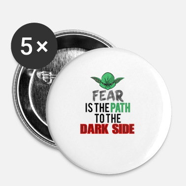 Yoda Fear Is The Path MOKE YODA - Buttons small 25 mm