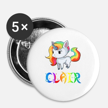 Clair Einhorn Clair - Badge petit 25 mm