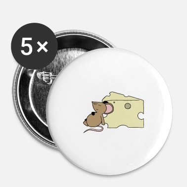 Mousse Sleepy Mouse - Badge petit 25 mm