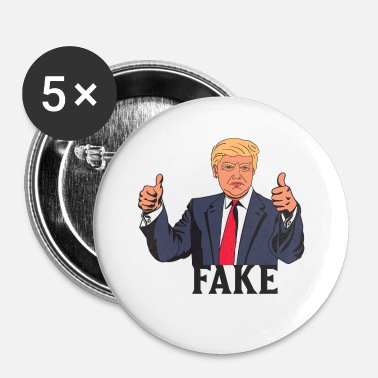 Fake TRUMP FAKE - Badge petit 25 mm