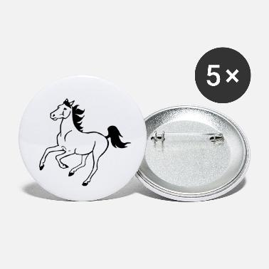 Galop galop de cheval - Petits badges
