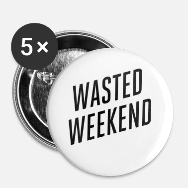 Weekend weekenden - Buttons/Badges lille, 25 mm