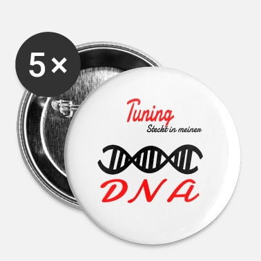 Tuning Is in mijn DNA Hobby Tuning - Buttons klein 25 mm (5-pack)