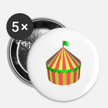 Circus Circus - Buttons klein 25 mm (5-pack)