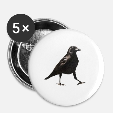 Jerking Off Crow - Buttons small 25 mm