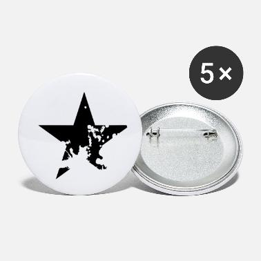 dirty star - Buttons klein