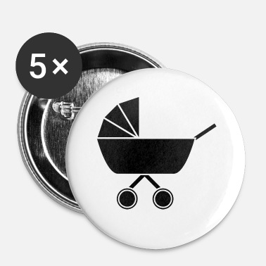 Nourrisson Le landau de bébé n°2 - Badge petit 25 mm