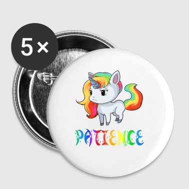Patience Patience Unicorn - Badge petit 25 mm