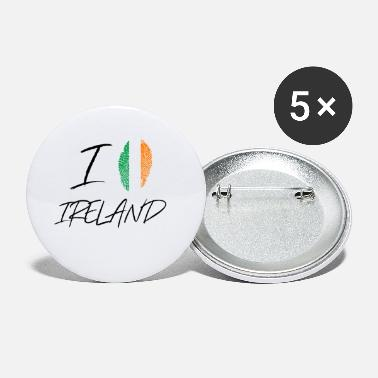 I Love Ireland I love Ireland / I Love Ireland gift - Small Buttons