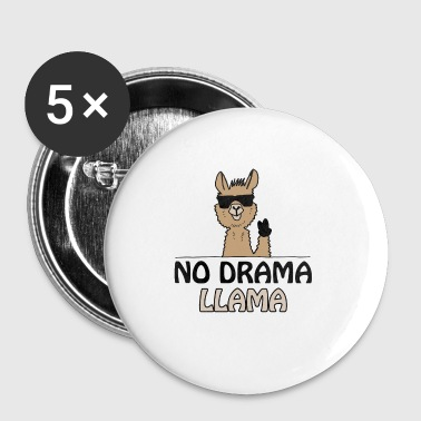 Lama no drama lama - Buttons klein 25 mm