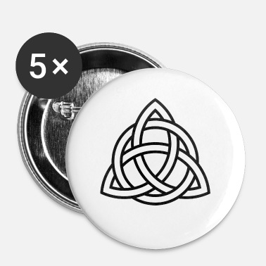 Celtic Celtic solmua - Celtic Symbol - Rintamerkit pienet 25 mm