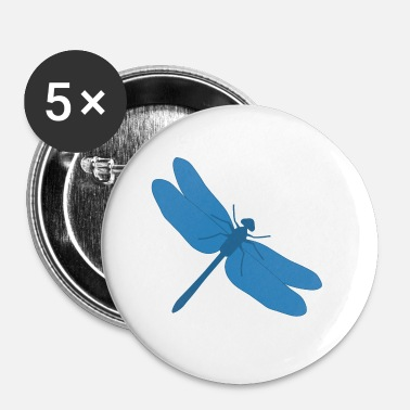 Dragonfly Dragonfly - Dragonfly - Buttons small 1''/25 mm (5-pack)