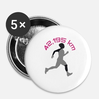Marathon marathon - Badge petit 25 mm