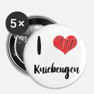 Squat Jeg hader Squats - Buttons/Badges lille, 25 mm