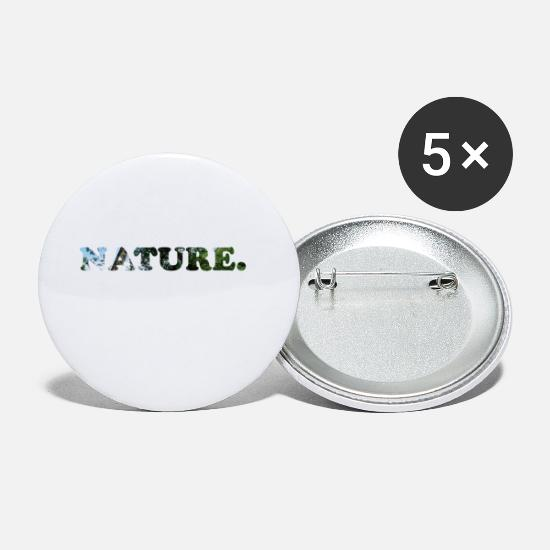 Image Buttons - Nature. - Small Buttons white