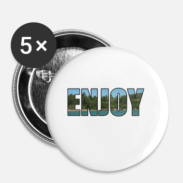 Enjoy Enjoy Thailandia - idea regalo - Spilla piccola 25 mm