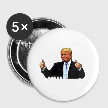 Hater Trump / Donald Trump / Haters is gonna hate - Buttons small 25 mm