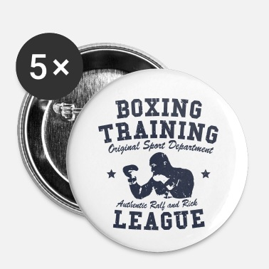 Training boxing training - Badge petit 25 mm