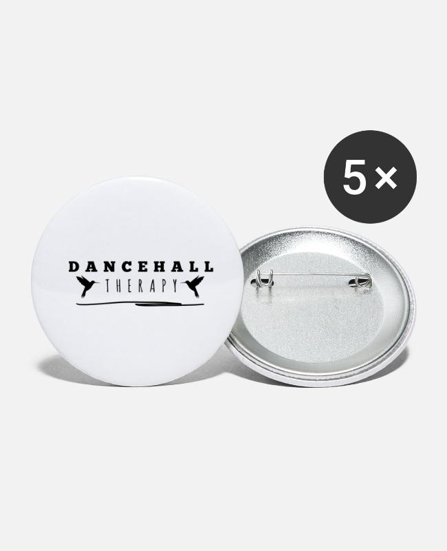Rastafari Buttons - Dancehall Therapy Jamaica Doctor Bird Hummingbird - Small Buttons white