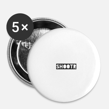 Wear Shootr Wear - Buttons klein 25 mm (5-pack)